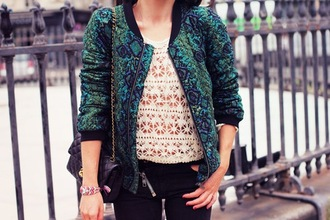 jacket velvet fancy leopard print aztec top t-shirt bag chanel jeans black green jacket