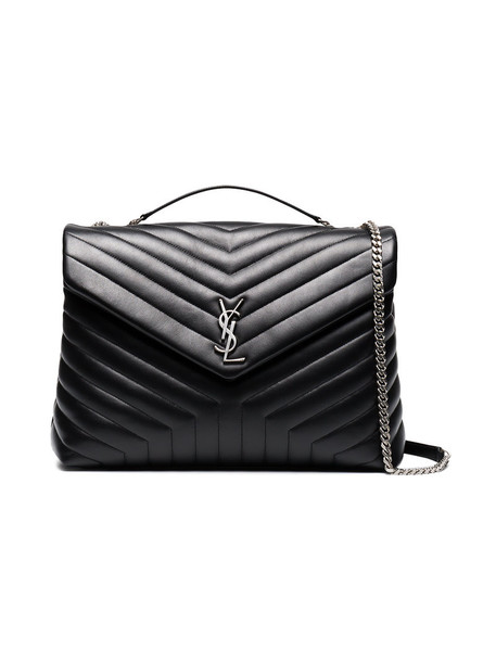 Saint Laurent women quilted bag shoulder bag leather black