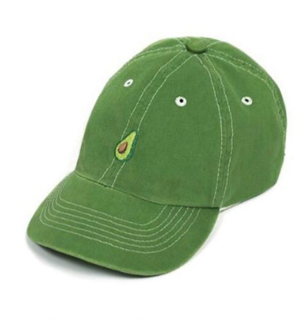 hat avocado cap girly green tumblr