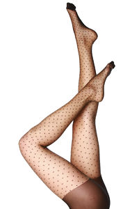 Collants ã  pois sexy motif fantaisie noir t. 2 ou 3 pin up glam goth punk rock en vente sur ebay.fr (fin le  18