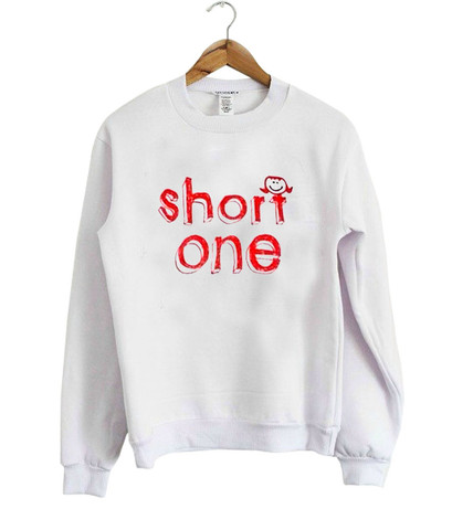 short one sweatshirt