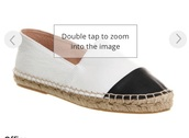 shoes,espadrillas,white,leather,black leather,white leather,black shoes,white shoes,leather shoes,summer,espadrilles,black,black and white