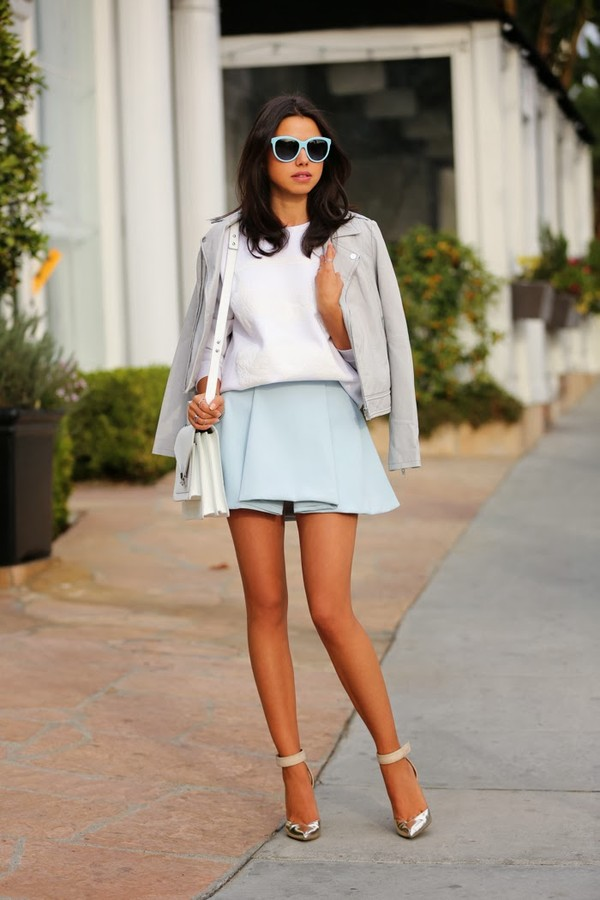 viva luxury jacket bag skirt sweater shoes jewels