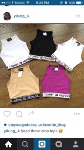 shirt,tommy hilfiger,crop tops,tommy hilfiger crop top,instagram,t-shirt,i really want these someone  let   me know where can you get these thanks