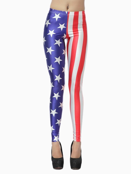 Leggings In American Flag Print | Choies