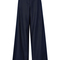 Wide leg cotton twill trousers | moda operandi