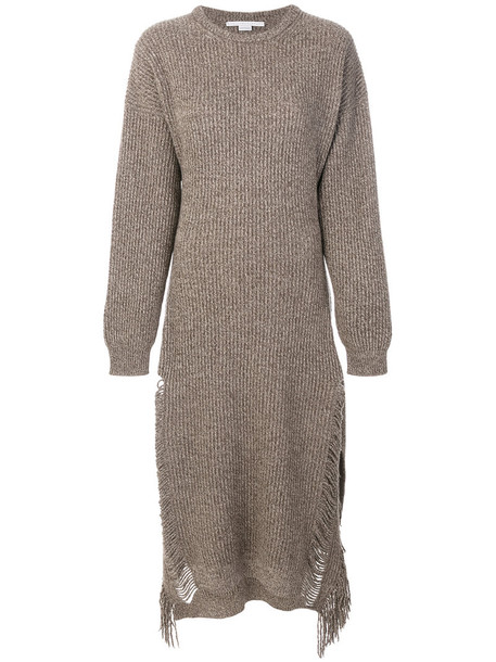 Stella McCartney dress women nude wool