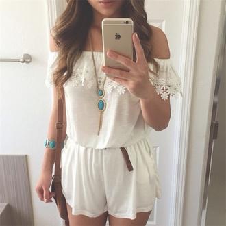 jumpsuit style fashion boho chic dress white dress fancy dress girly dress grunge vintage dress iphone case jewels bag