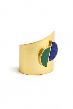 Marc by Marc Jacobs | Semi Circle Stone Cuff by Marc by Marc Jacobs