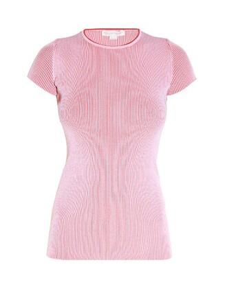 top knit short light pink light pink
