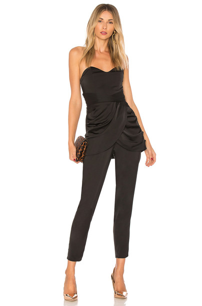 X BY NBD jumpsuit black