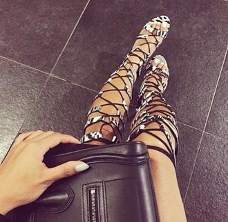 shoes knee high gladiator sandals flat gladiator sandals