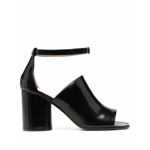 Maison Margiela open Tabi toe sandals - Black