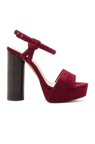 joe's jeans heel burgundy