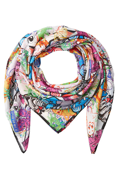 scarf cotton silk