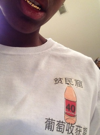 t-shirt soft ghetto soft grunge pale pale grunge cyber pale cyber cyber ghetto pastel goth tokyo sad boys yung lean bones black and white orange peach gangsta drink bottle juice edgy iced out lean yellow pastel creepers japan japanese writing graphic tee