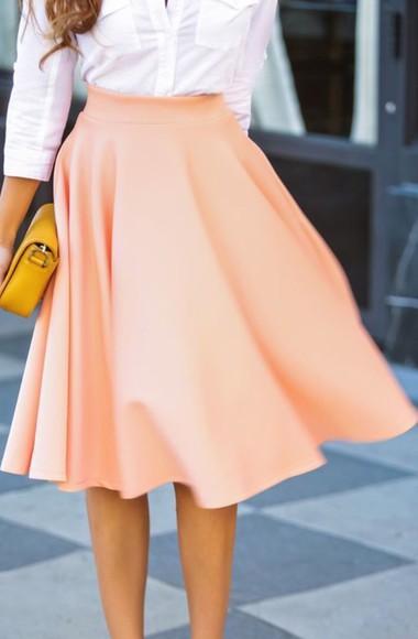 pink skirt skirt pink