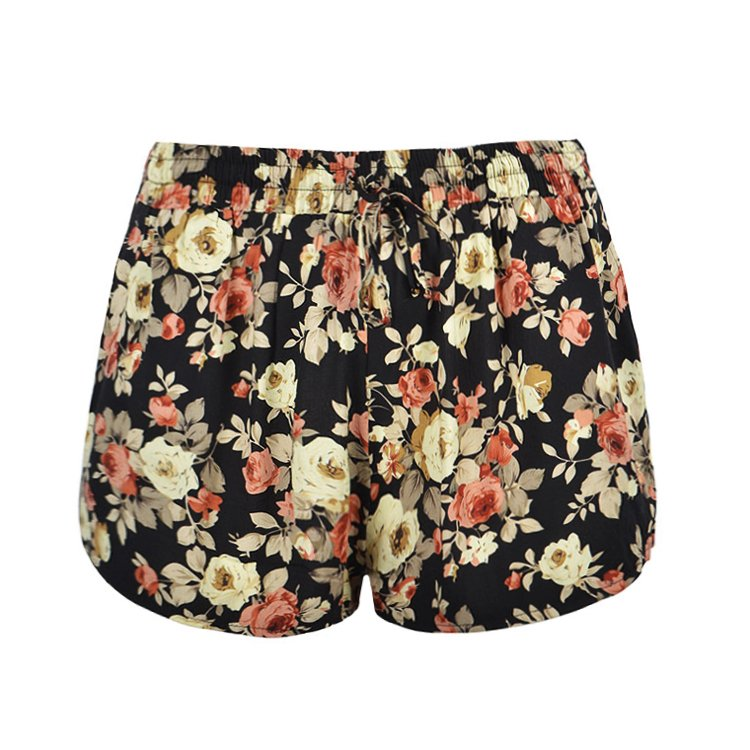 ROSE PRINT SHORT - Ally Fashion