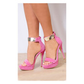 shoes,pink,pink shoes,pink heels,love,lovely,cute,pretty,hot,sexy,sexy shoes,heels,high heels,ankle strap heels,ankle strap,amazing,fashion,fashionista,style,stylish,fabulous,trendy,girl,girly,women,suede,velvet,open toes