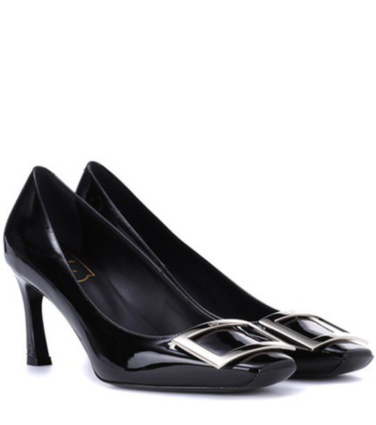 Roger Vivier pumps leather black shoes