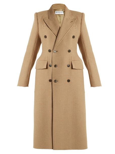 Balenciaga coat beige