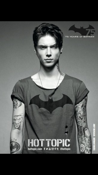 batman andy biersack black veil brides