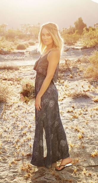 dress maxi dress lauren conrad summer dress summer outfits