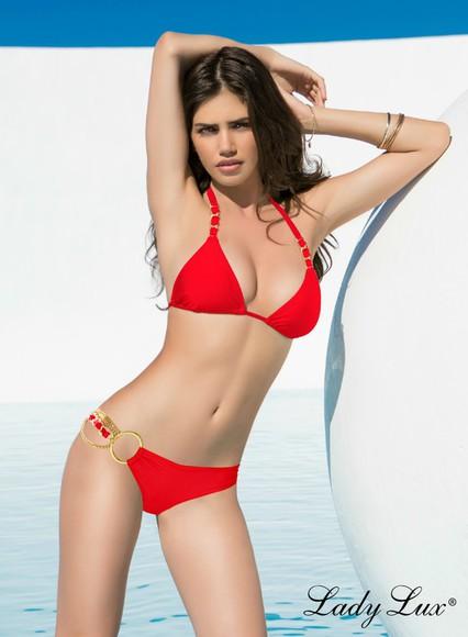 swimwear bikini triangle bikini luxury bikini triangle swimsuit designer swimwear red bikini red swimwear red swimsuit red bathingsuit two piece swimsuit designer bikini triangle beachwear