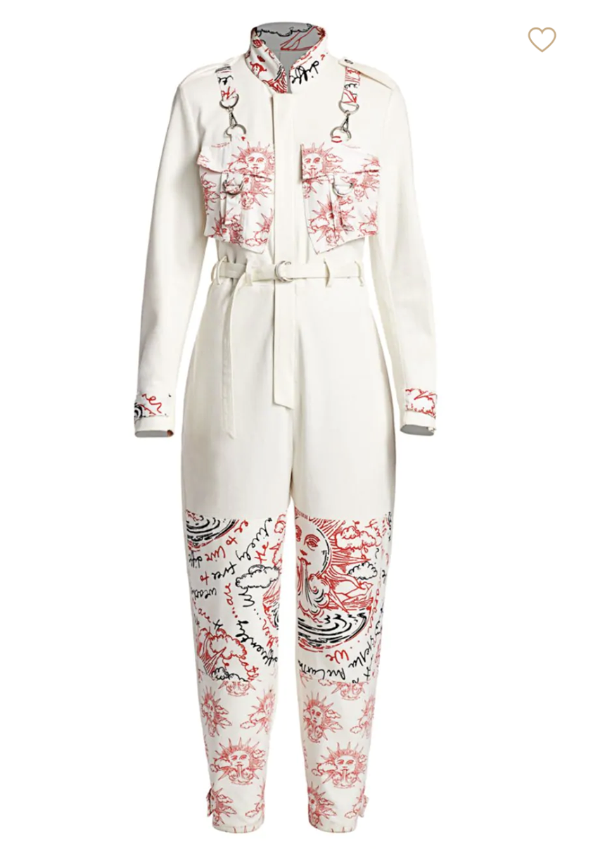 Stella McCartney We Are The Weather Cotton Jumpsuit