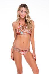 top,strappy halter top,bikini top,halter top,luli fama,print,reversible,bikiniluxe
