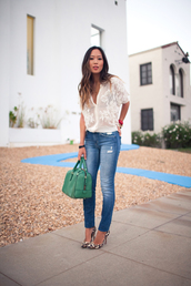 song of style,blouse,jeans,shoes,bag,shirt,lace,brand,how much it cost