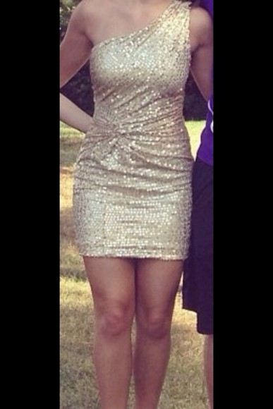 dress homecoming golddress goldsequins homecoming dress gold sequin dress