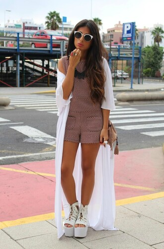 style by nelli blogger romper bag dress shoes jewels t-shirt