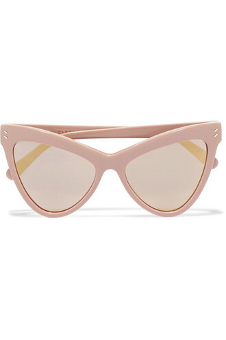 pastel sunglasses mirrored sunglasses pink pastel pink