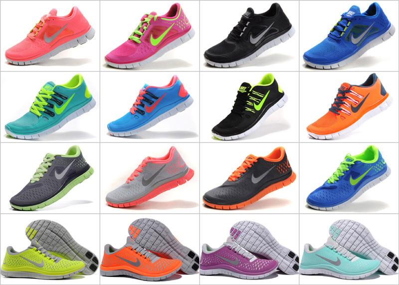 2013 original Nike Free run shoes 5.0 v2 3.0 4.0 5.0 running
