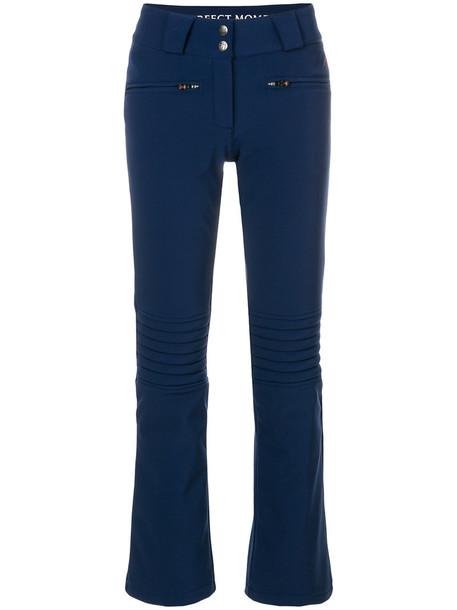 women blue pants