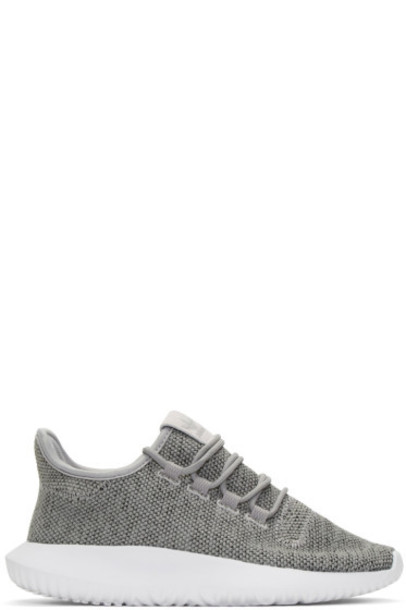 grey sneakers shoes