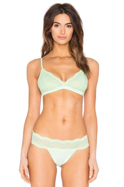 Cosabella bra soft green