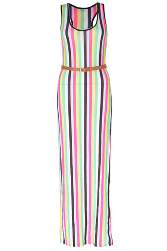 Mirella Striped Maxi - Pop Couture