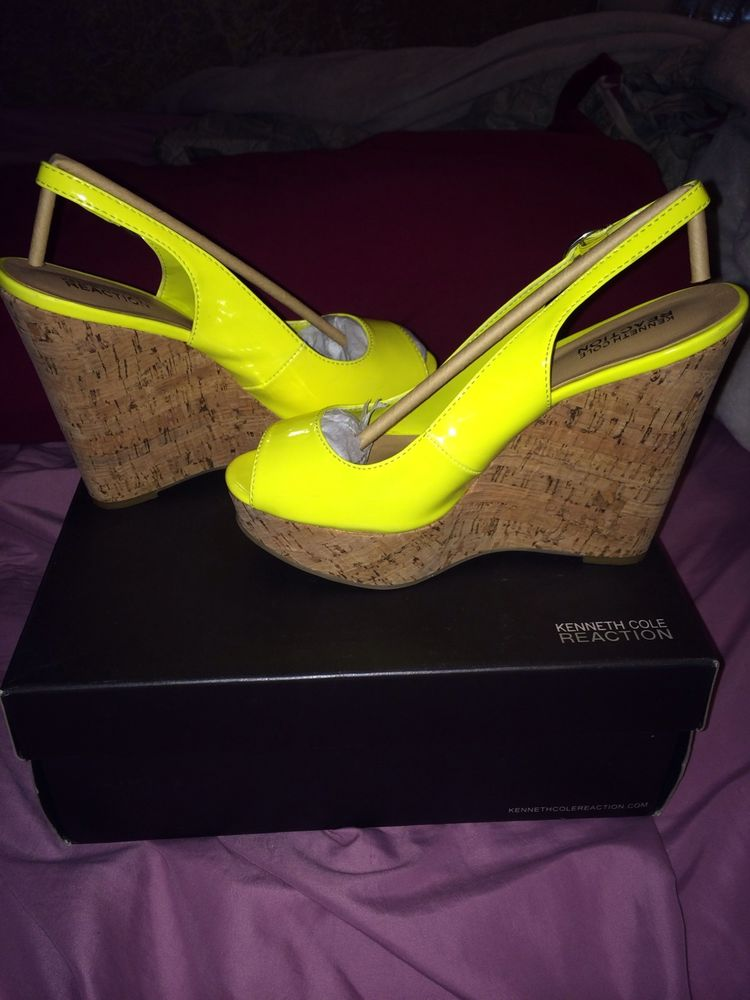 Kenneth Cole Neon Wedges | eBay