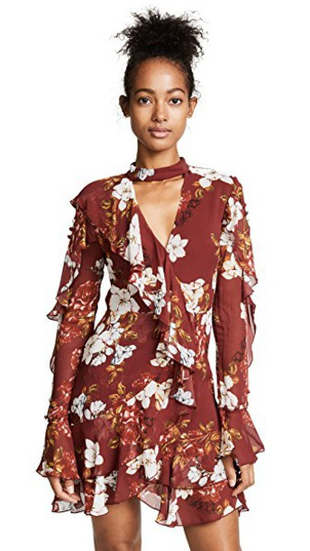 Nicholas dress mini dress mini long floral