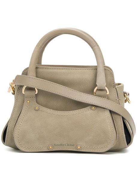 See by Chloe women bag crossbody bag leather grey