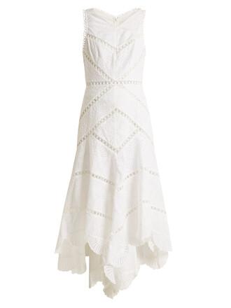 dress cotton white