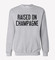 Rwdz x outfit of love raised on champagne gray sweatshirt