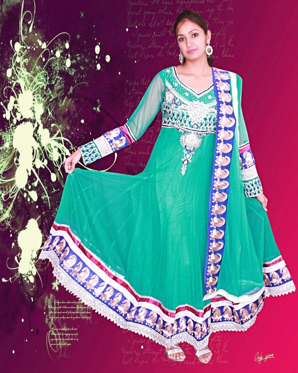 dress anarkali suits