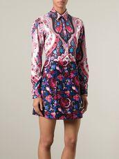 dress,floral dress,MSGM