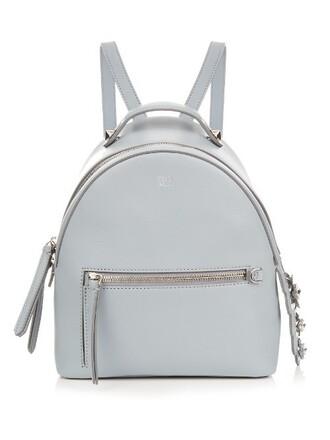 mini backpack light blue light blue bag