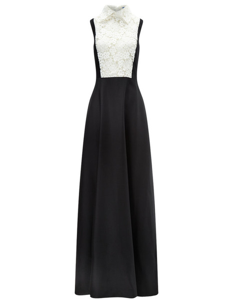 gown lace black