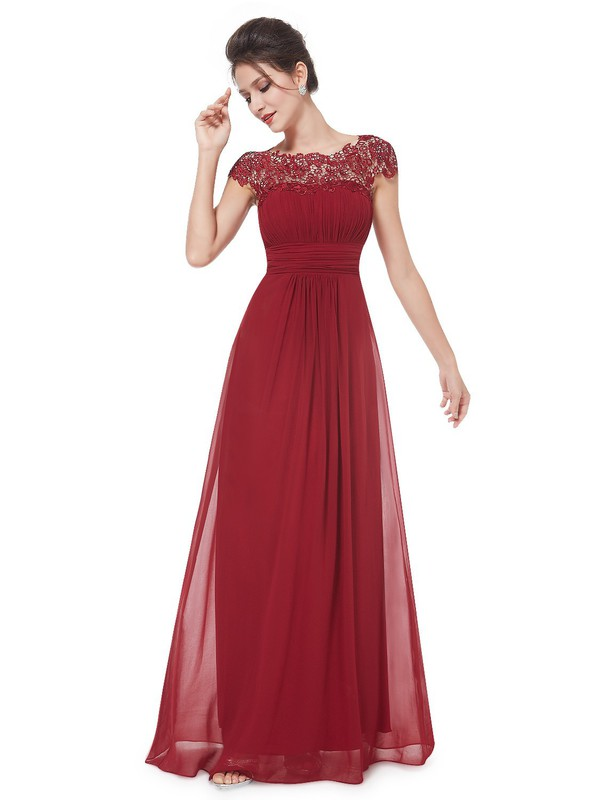 Ladies Vintage Lace Long Maxi Evening Formal Cocktail Party Dress