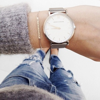 jewels watch bracelets women watches cute watch cardigan gold bracelets hipster jewelry larsson and jennings